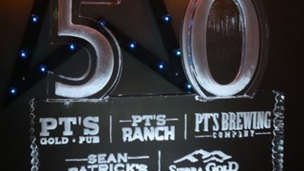 PT's celebrates the opening of its 50th tavern