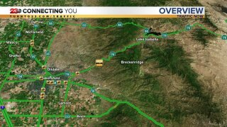 178 closed at the mouth of the canyon due to crash