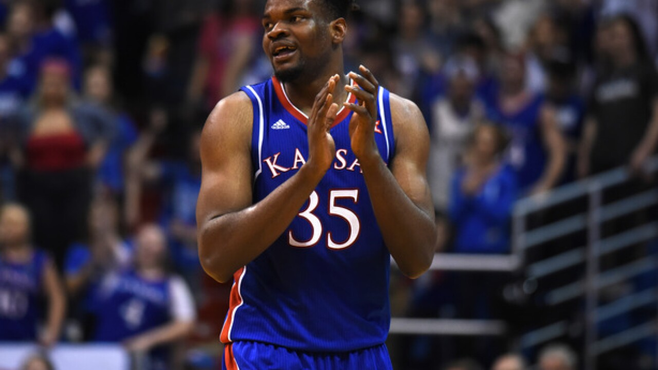 No. 13 Kansas gets past No. 20 West Virginia 77-69