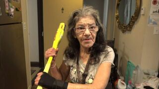 67-year-old woman takes down intruder at senior apartment complex in California