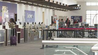Colorado Springs airport check-in