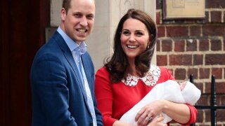 William, Kate share Prince Louis photos