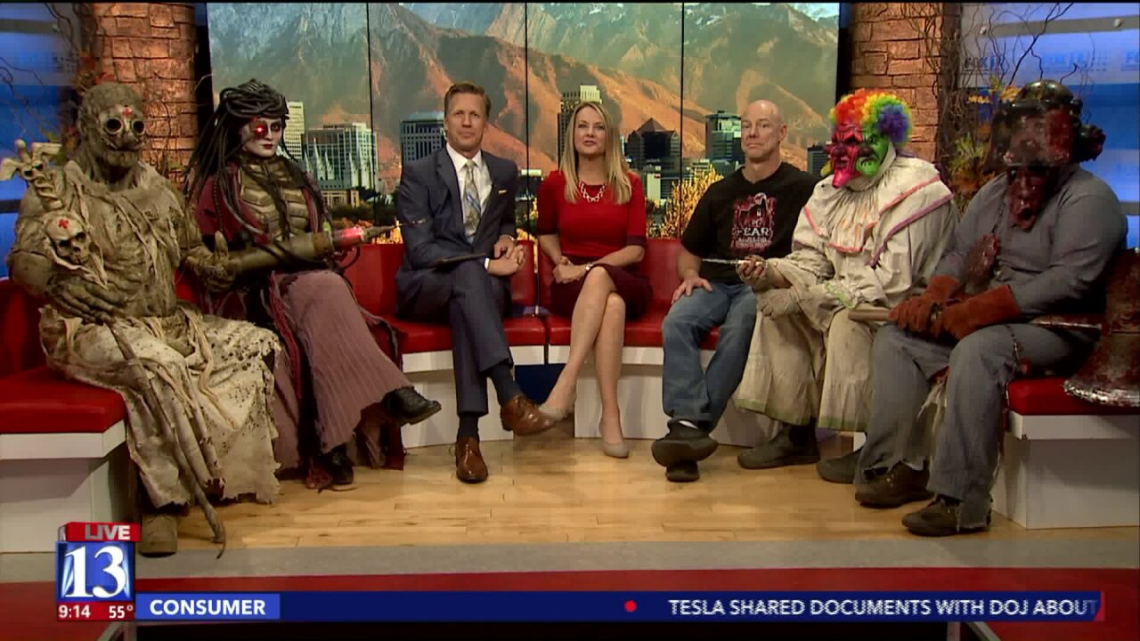 Frightening folks from Fear Factory visit Fox13