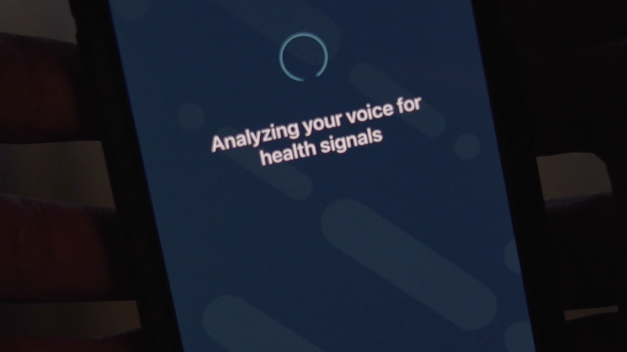 The app starts by taking a 30-second sample of your voice. Then, it analyzes your voice sample for signs of depression, looking at six different vocal features.