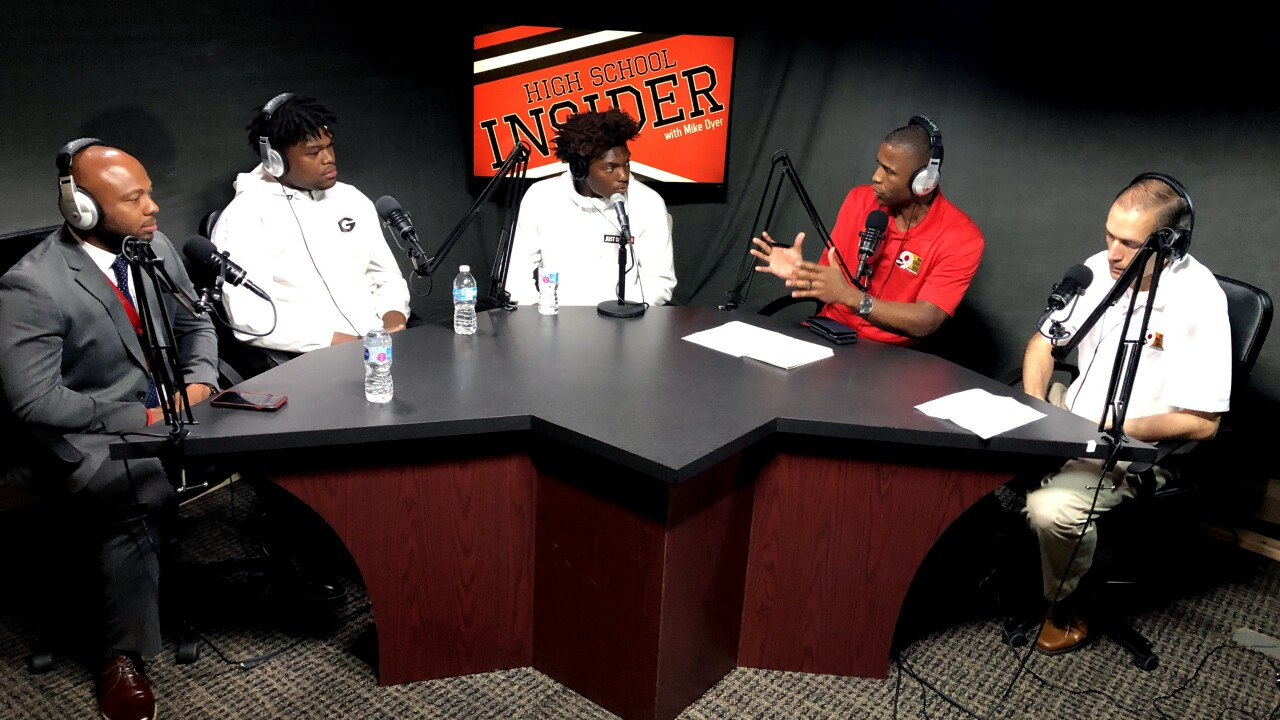 Princeton 2020 football standouts Darrion Henry, Jaheim Thomas talk recruiting
