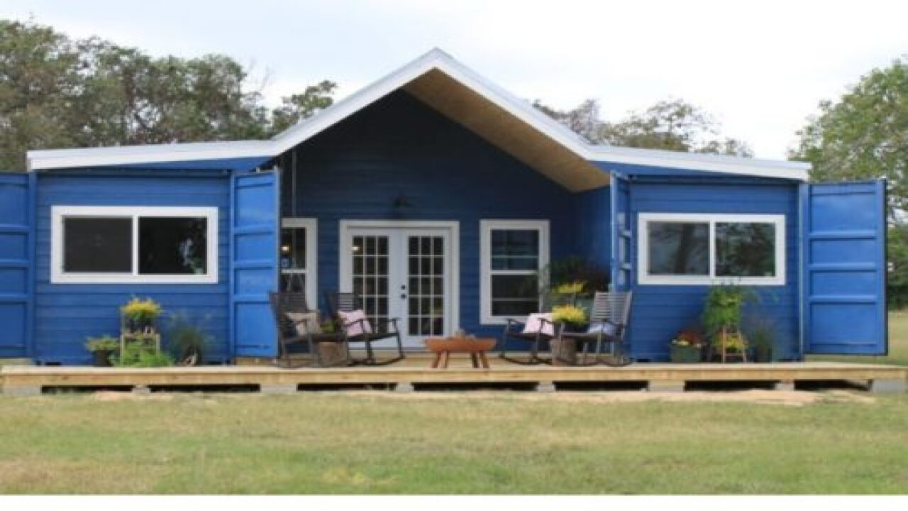 You Can Now Buy An Affordable Farmhouse Made From A Shipping Container