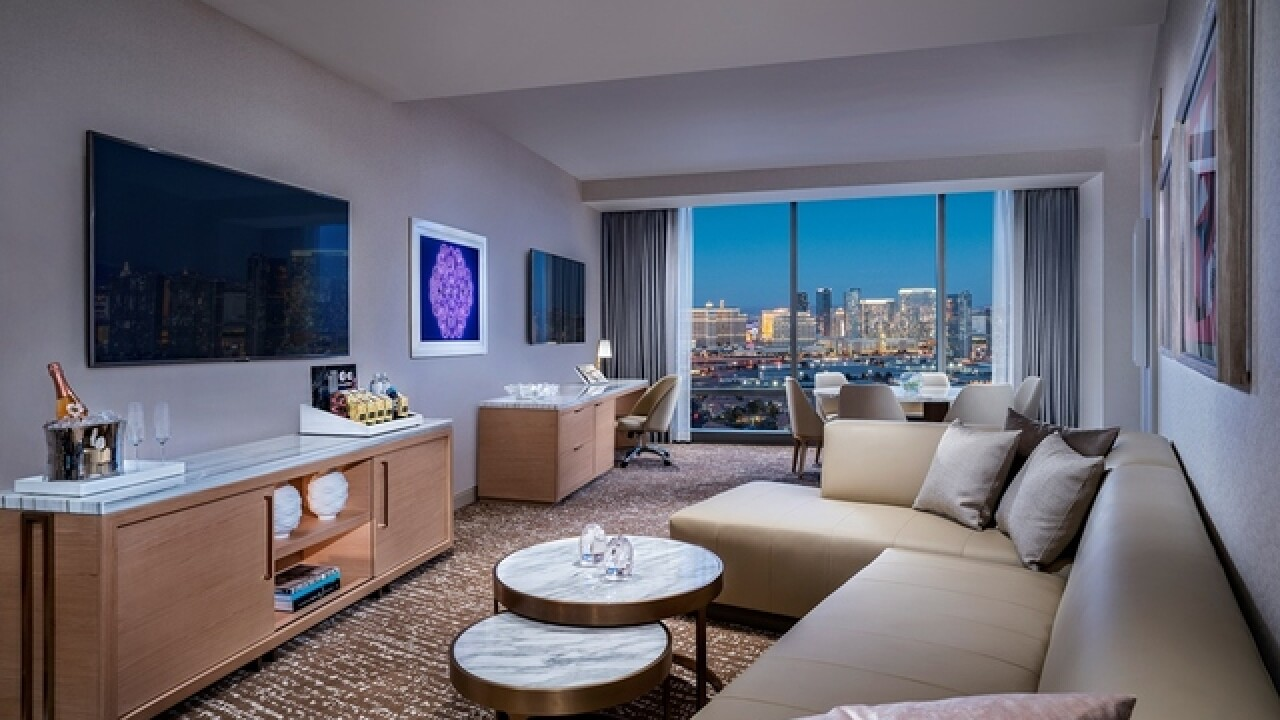 Palms unveils updates to rooms, suites