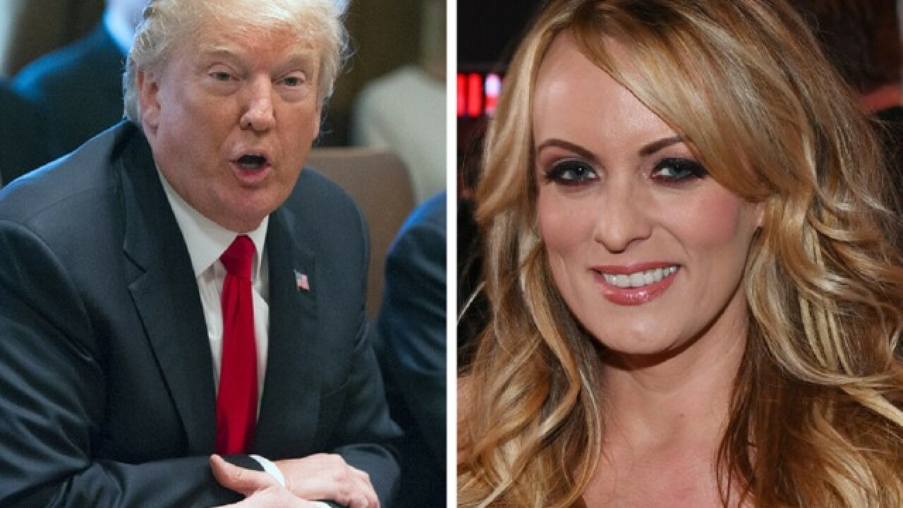 President Trump calls Stormy Daniels 'Horseface,' says he will 'go after' her and Avenatti