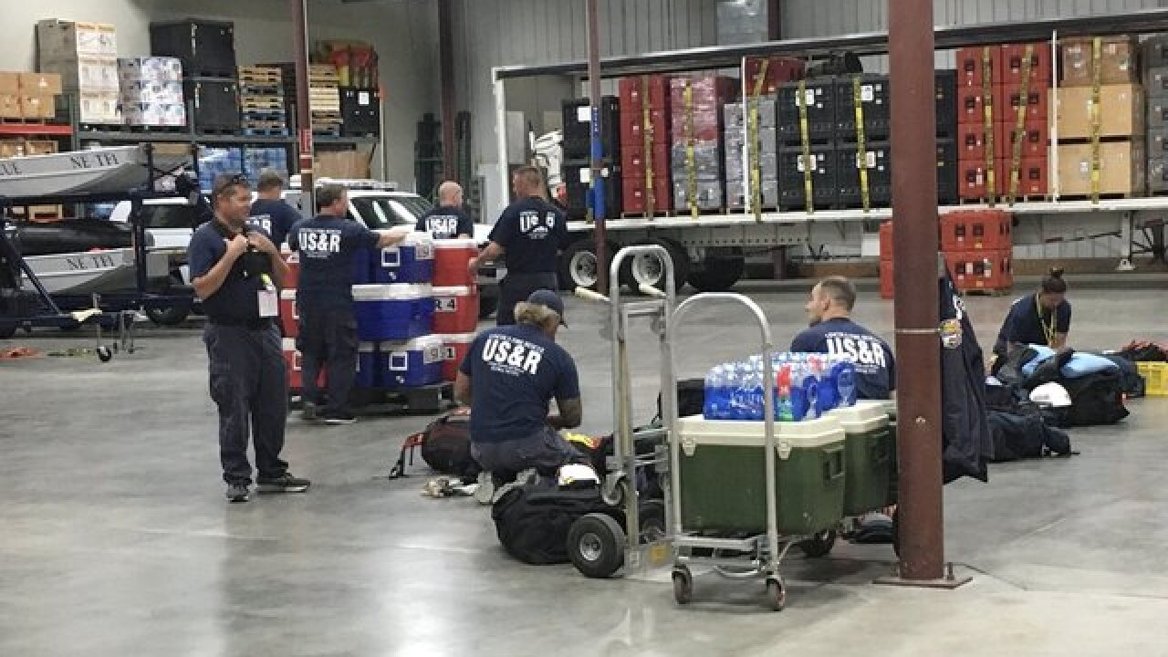 Nebraska Task Force One deployed for Hurricane Florence