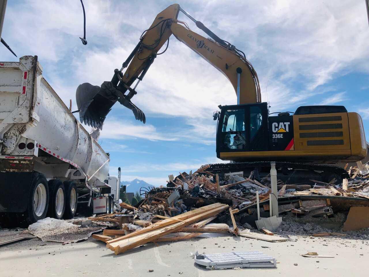 South Jordan demolition