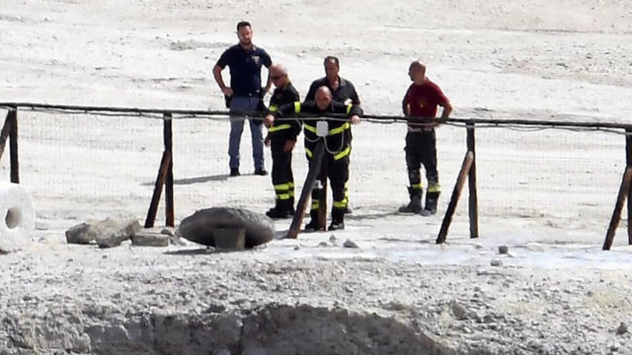 11-year-old boy and parents die after falling into volcanic crater in Italy