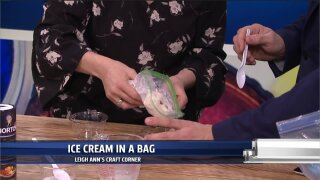 Craft Corner: Make this simple homemade ice cream in a bag