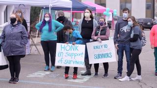 Rally to empower survivors