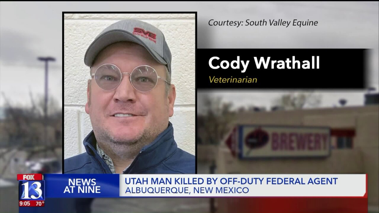 Utah man shot, killed by off-duty agent in New Mexico