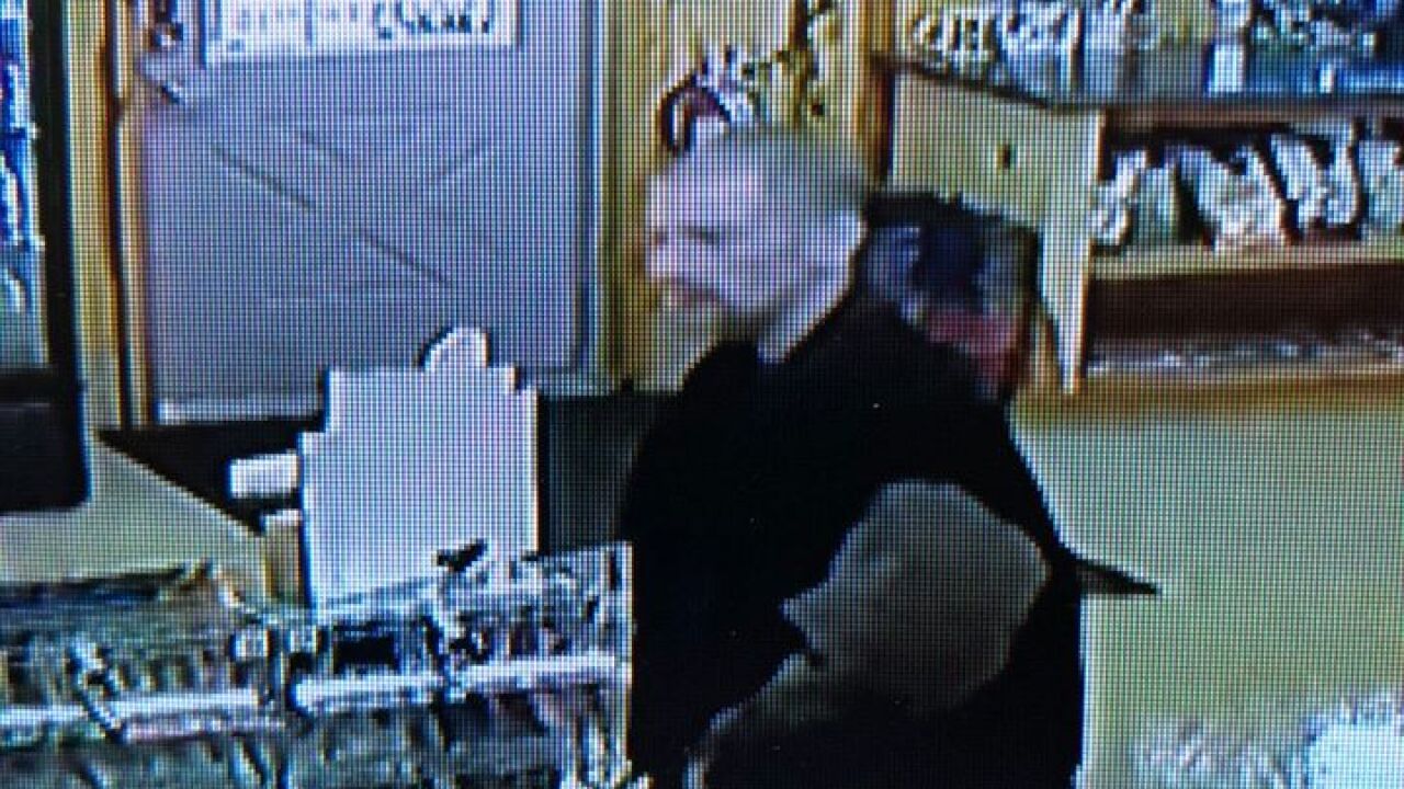Suspect Sought in Retail Fraud 1 - Courtesy City of Marshall Police Department Facebook Page.jpg