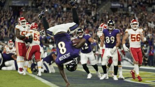 Lamar Jackson Chiefs Ravens Football