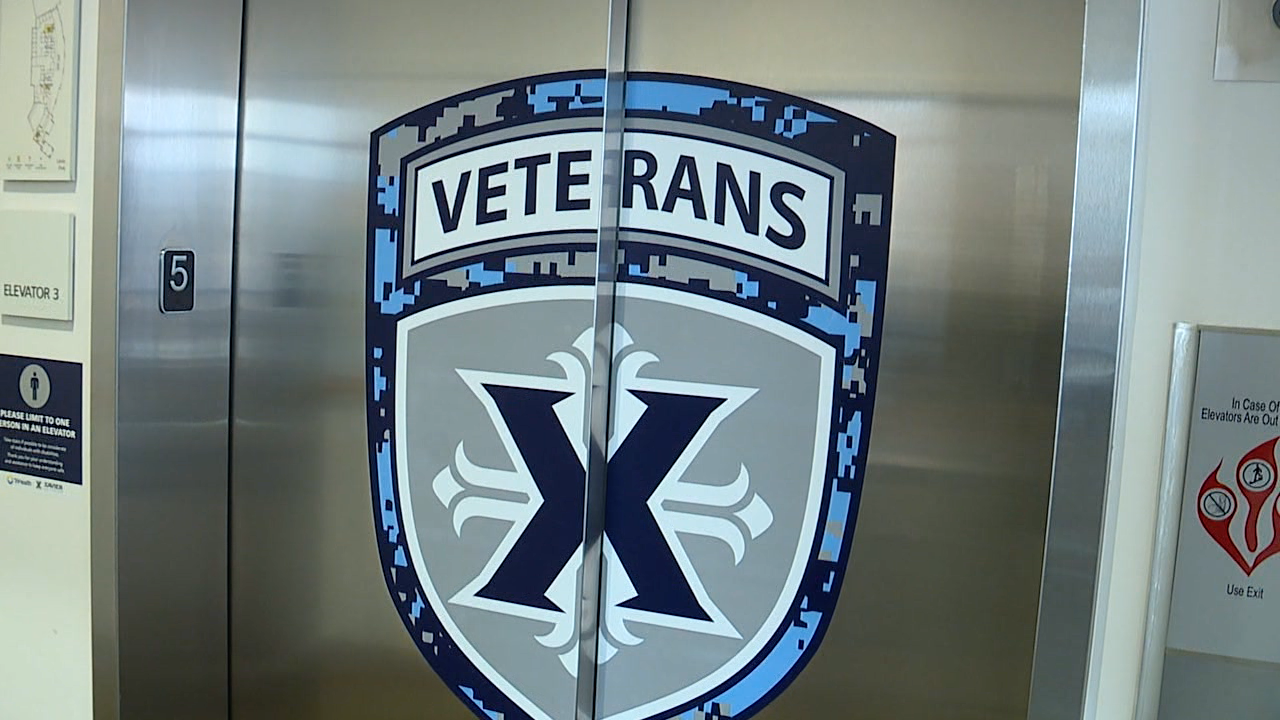 Xavier honored with 'Military Friendly' award.png