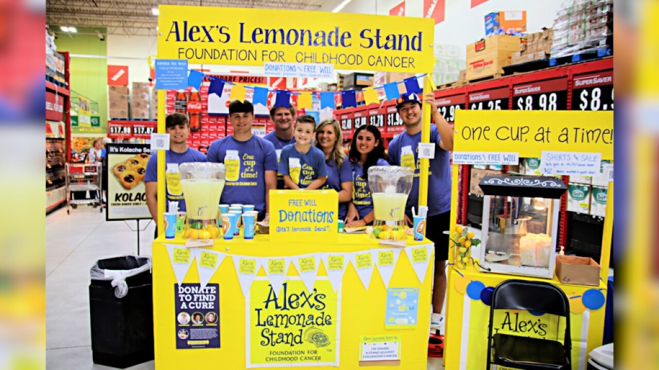 For the 5th year in a row, a Lincoln family used a lemonade stand to fight pediatric cancer.