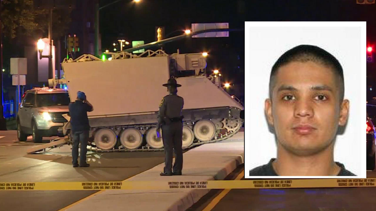 Soldier who took military vehicle on Richmond joyride granted conditional release