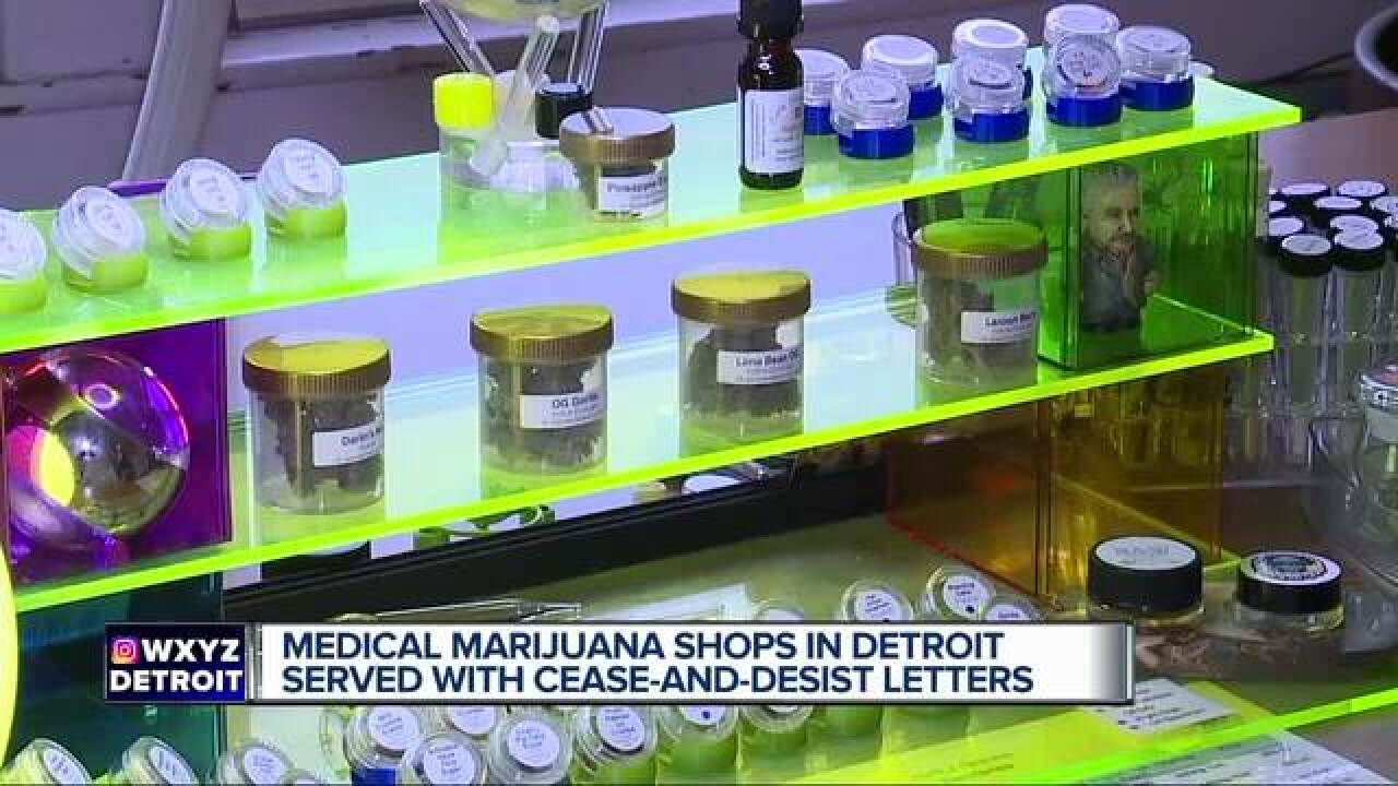 Pot shops operating without state authorization