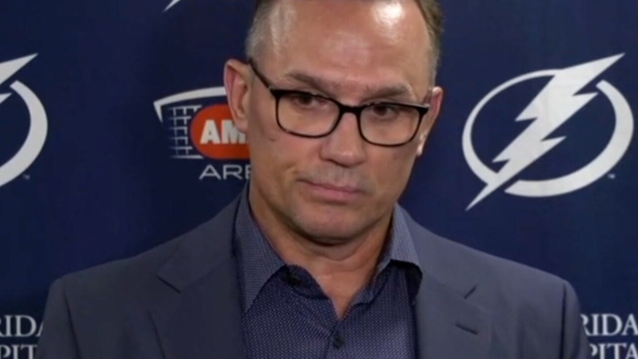 Yzerman stepping down as Lightning GM