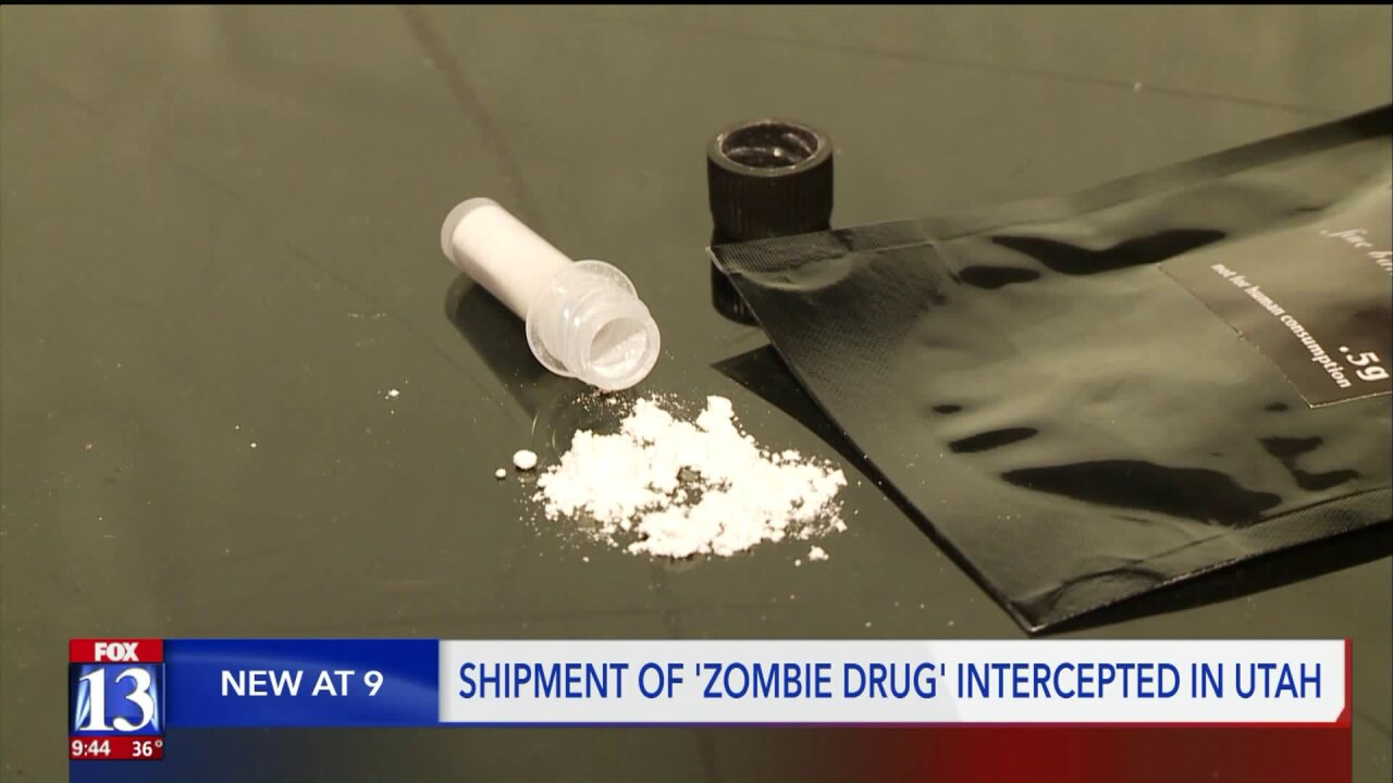 """""""Zombie drug"""" operation suspected in Magna, a first for UnifiedPolice"""
