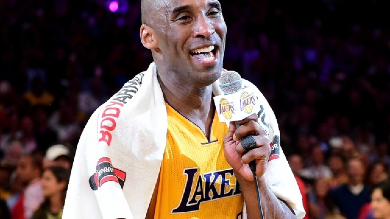 the best attitude 0f257 26d68 Snoop Dogg gives Kobe Bryant a Lakers-themed convertible