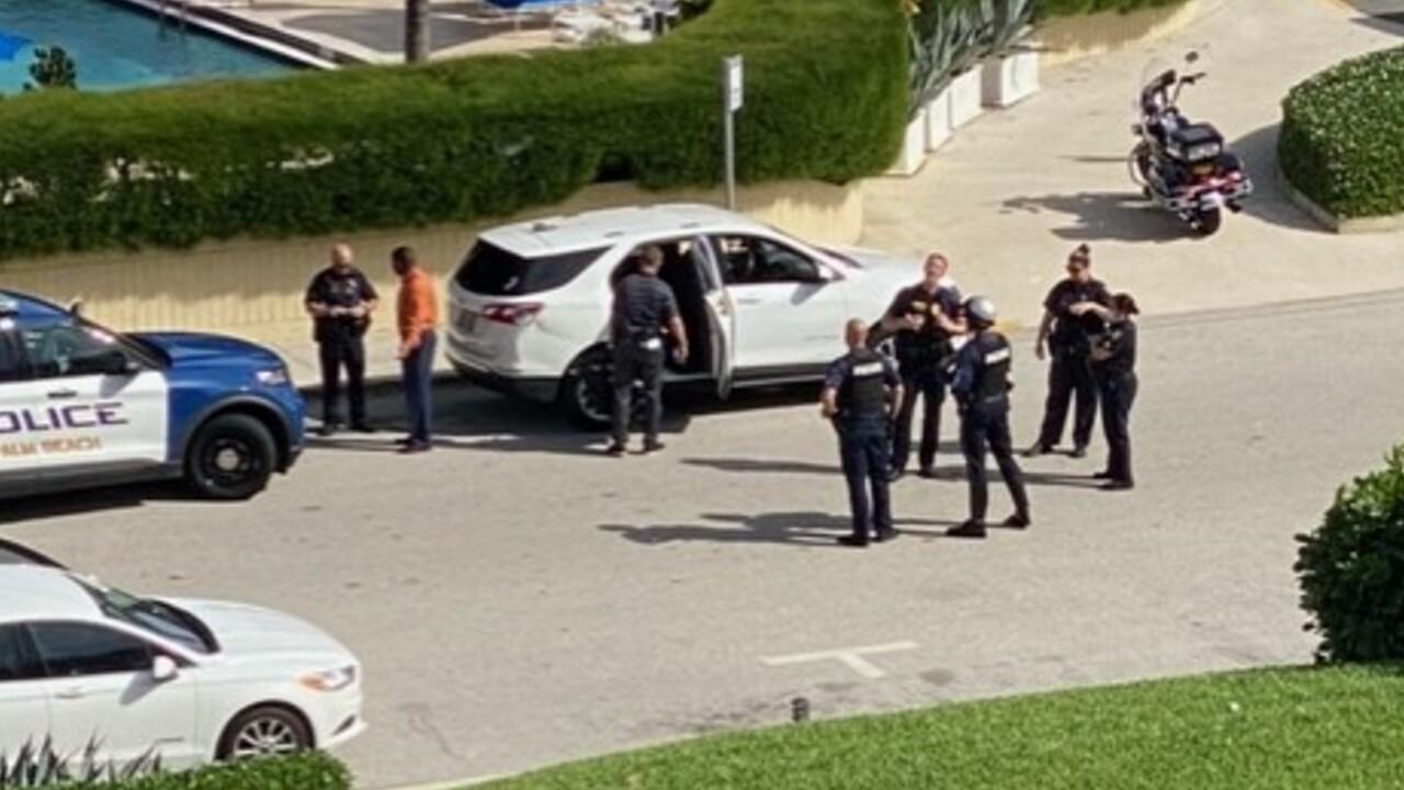 Palm Beach police, West Palm Beach police, and Palm Beach County deputies respond to Palm Beach on March 1, 2021.jpg