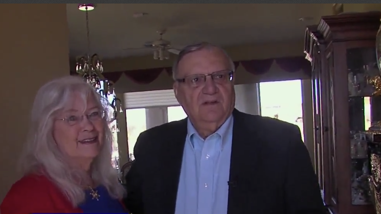 Ava and Joe Arpaio