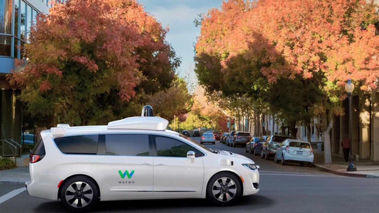 ABC15 takes ride inside driverless Waymo