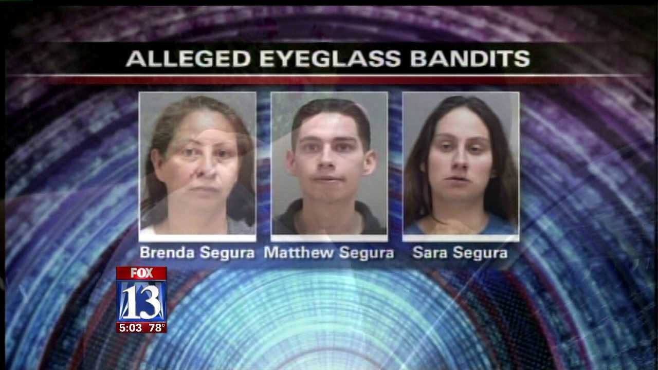 Suspects in string of optical store robberies arrested