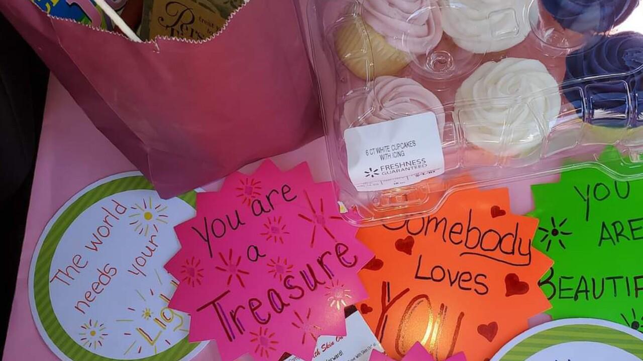 Virus Outbreak One Good Thing Birthday Kindness