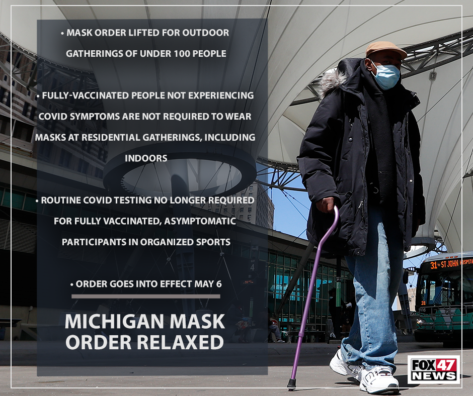 Michigan Mask Order Relaxed: Important Information to Know