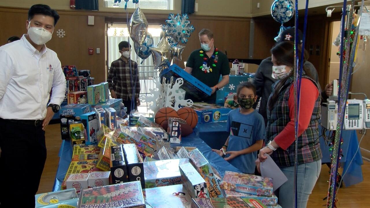 Driscoll Children's Hospital holiday toys.jpg