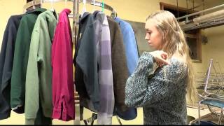 Columbia Falls HS students start new free clothing rack