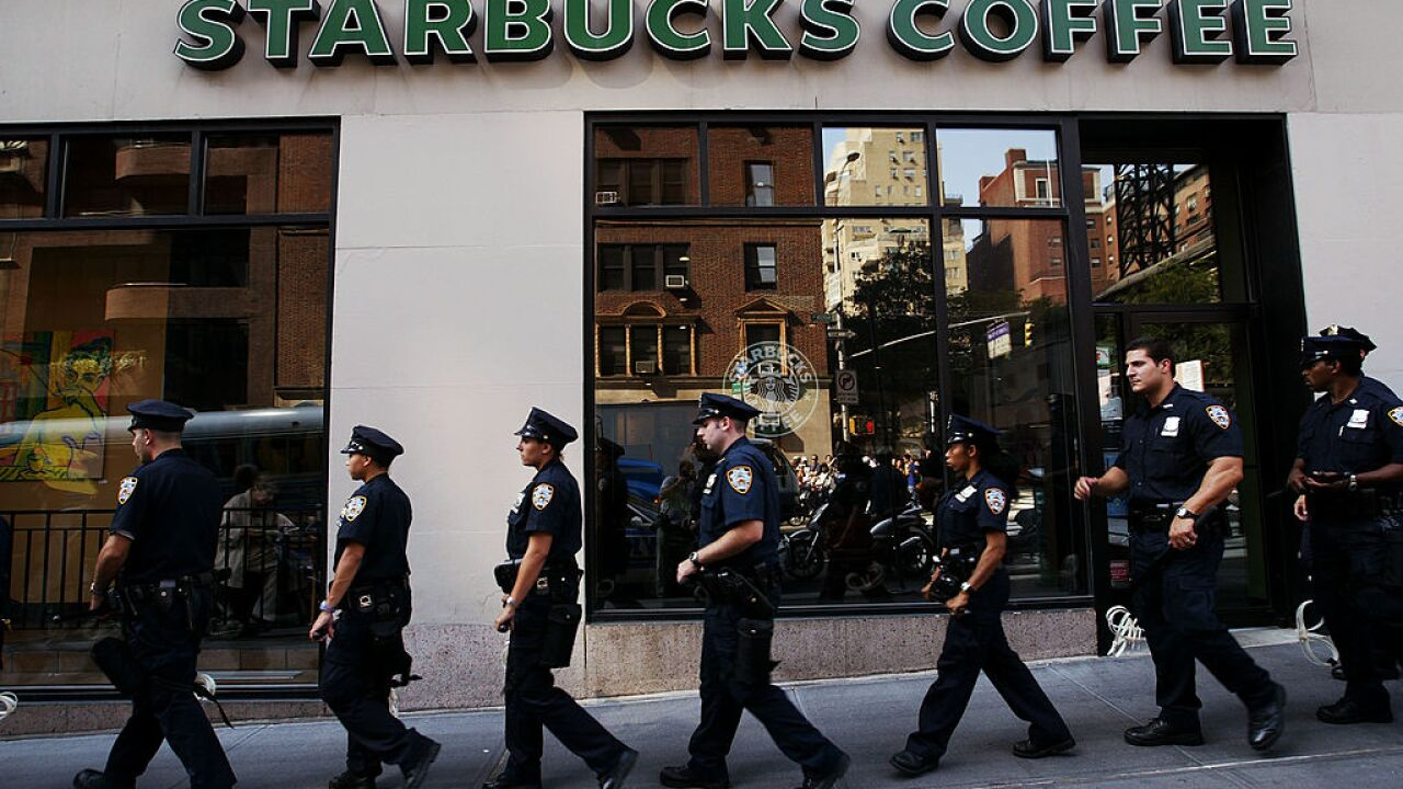 Starbucks meets with Arizona police after 6 officers were asked to leave a store