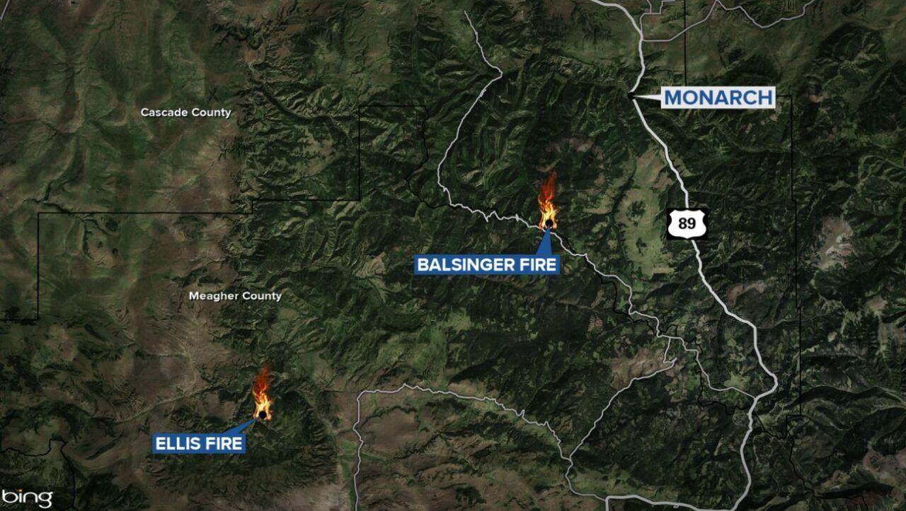 Ellis Fire and Balsinger Fire