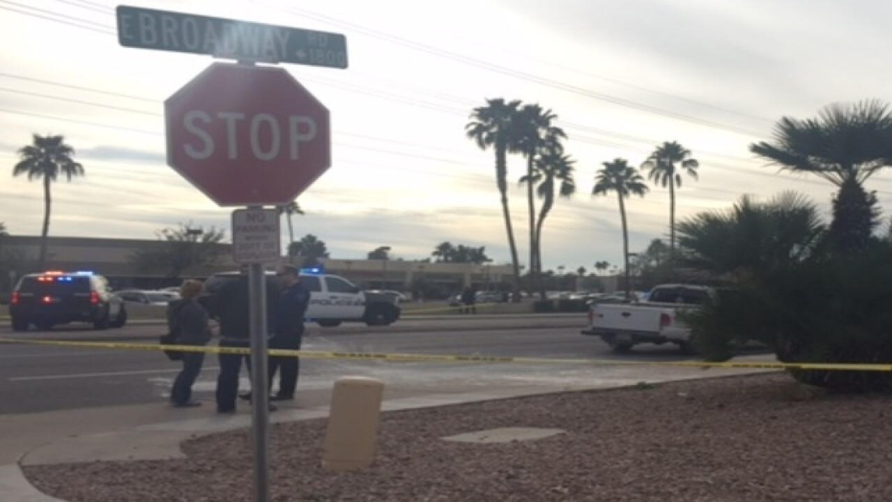 PD: Tempe roads closed after drive-by shooting