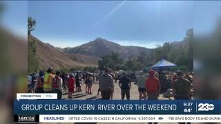 Kern River Clean-up, Bakersfield