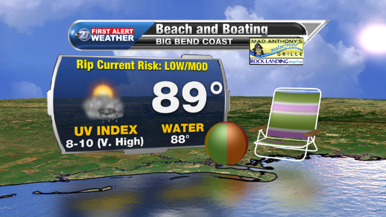 Beach and Boating forecast B (08/24/2017)