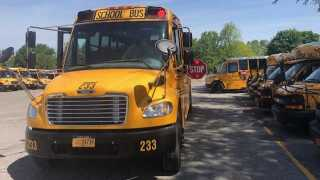 Alden Central Schools delayed two hours on Tuesday due to power outages