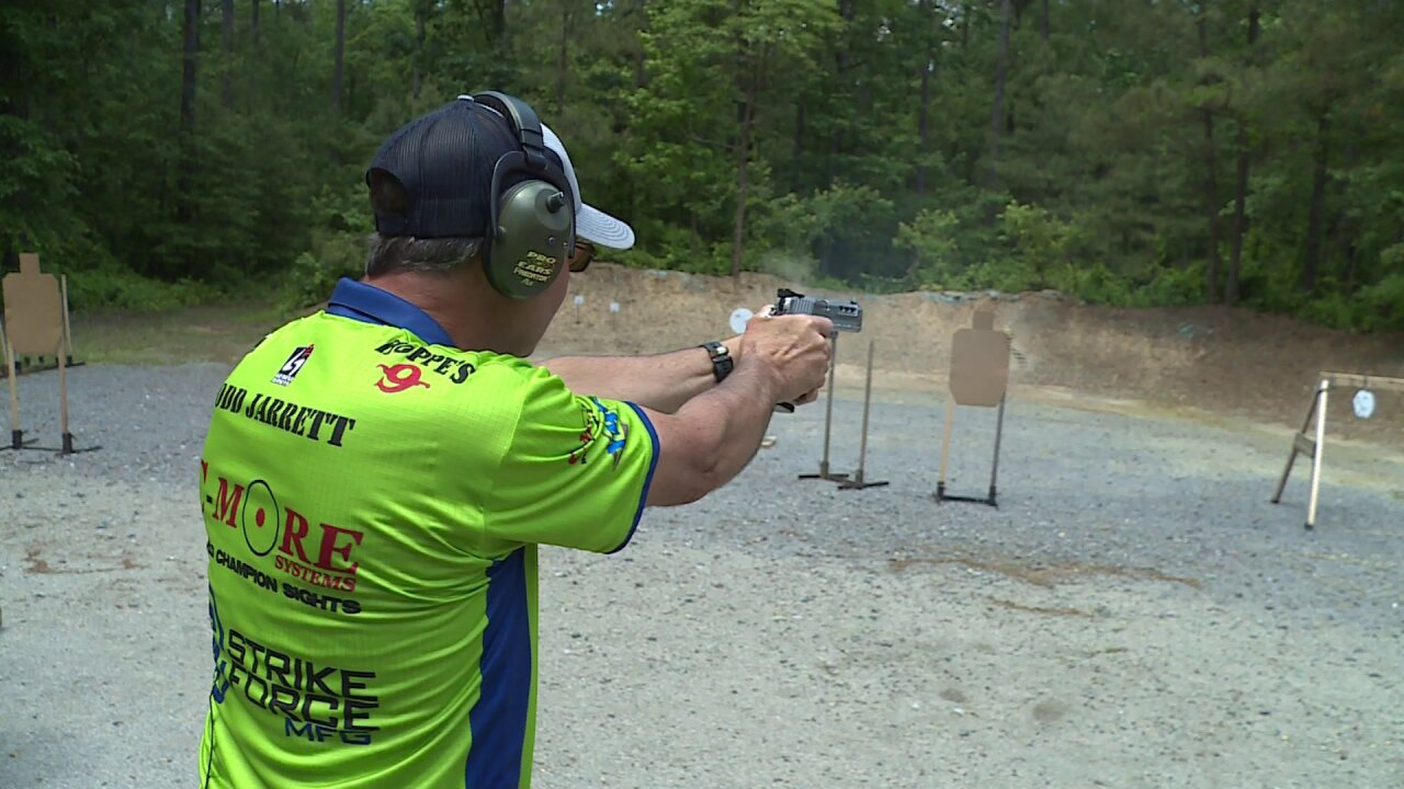 This Virginia man has one of the fastest guns in the world