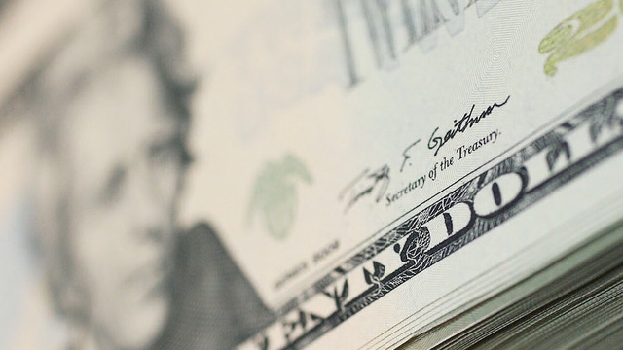 US dollar at lowest level in nearly 3 years