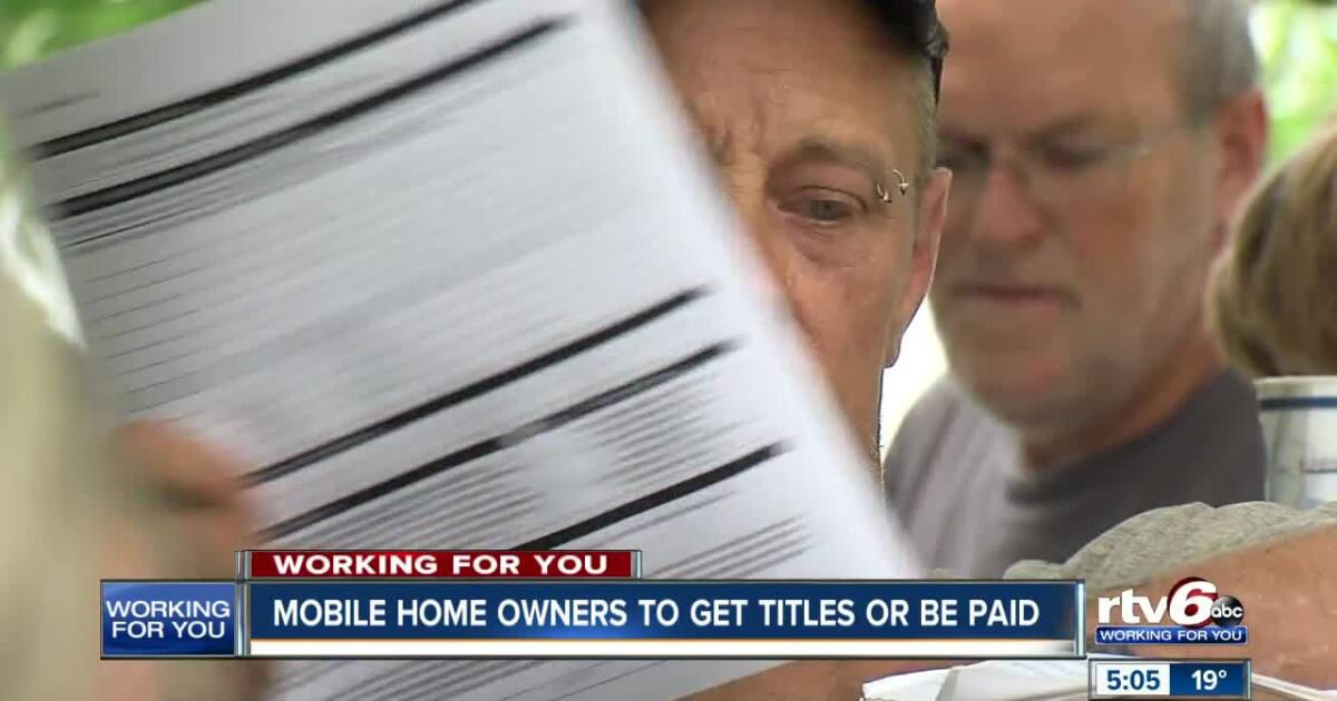 Agreement reached after AG sues mobile home park owners