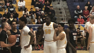 A college basketball player with autism made history in his first game