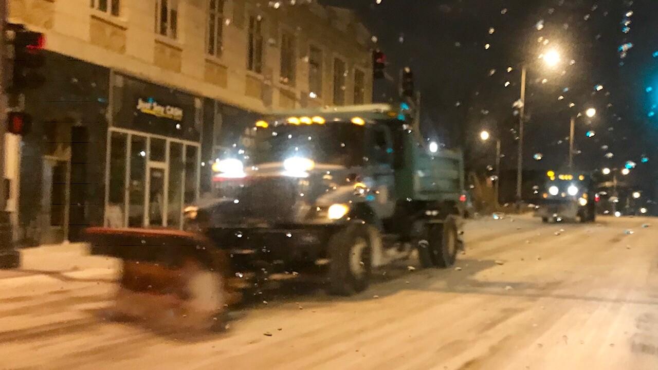 kcmo snow plow