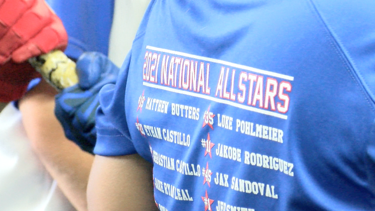 National little league team heads to state