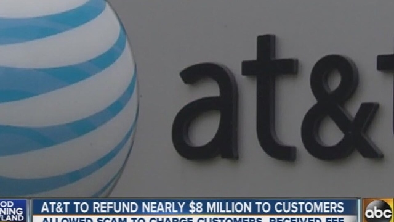 AT&T to pay customers $7.75 million for scam