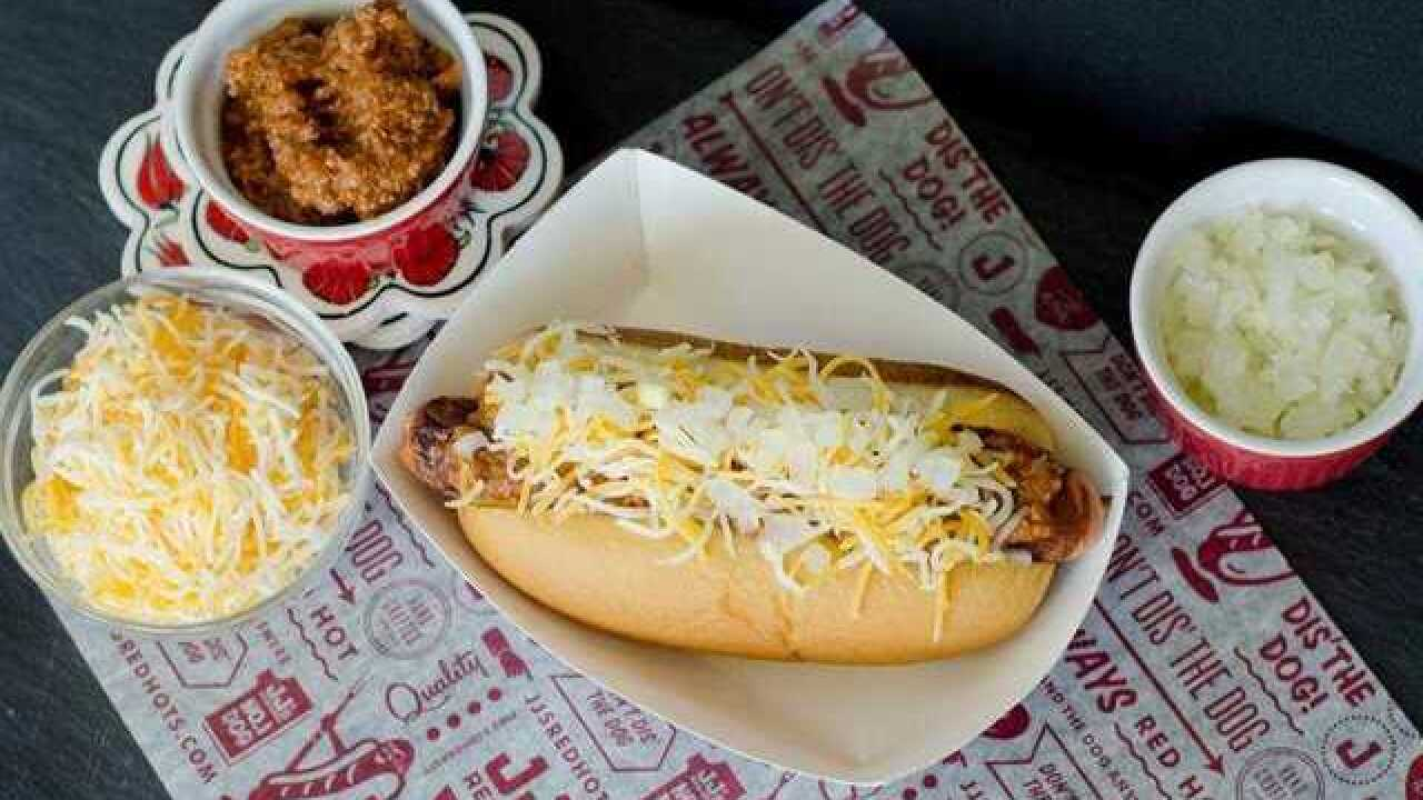 Annual list of most popular hot dog toppings