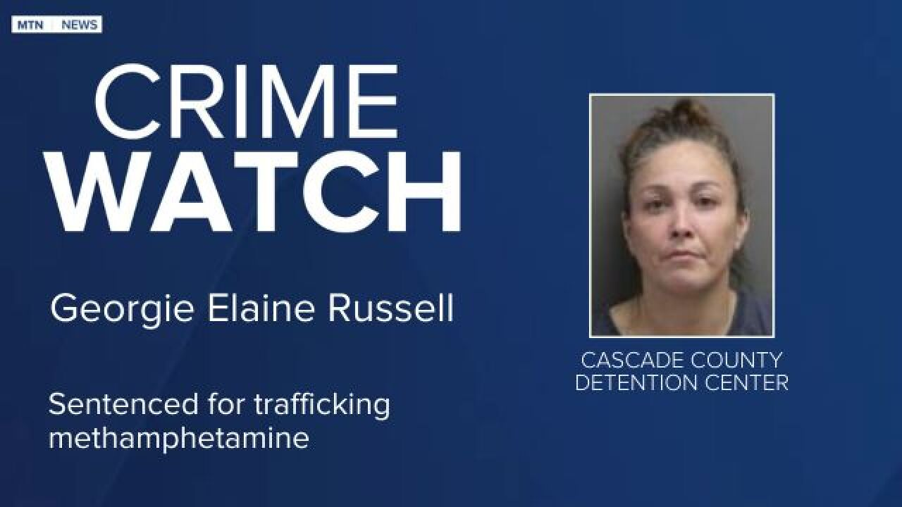 Georgie Elaine Russell was sentenced in federal court in Great Falls